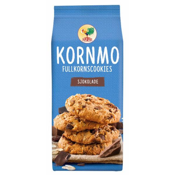 Kornmo Fullkornscookie Sjokolade 200 g Sætre