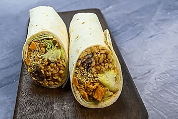 Wraps vegan