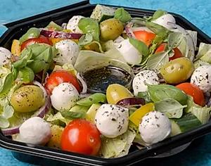 Mozzarella salat stor