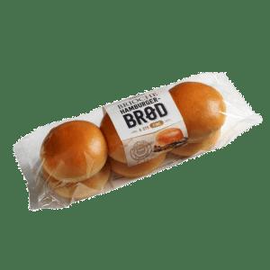 Hamburgerbrød brioche 6stk.