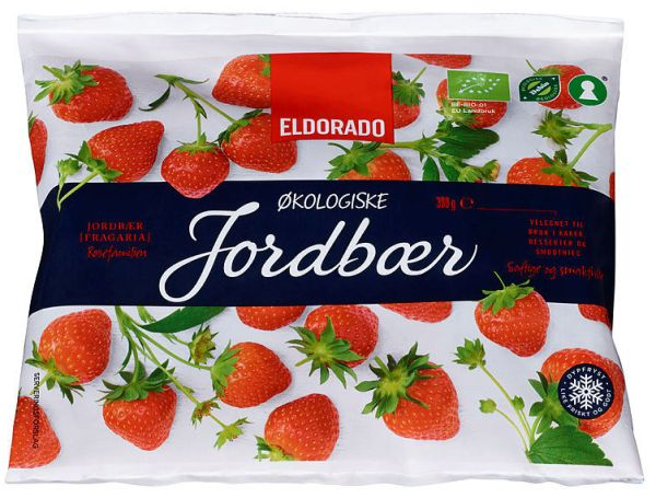 JORDBÆR ØKOLOGISKE ELDORADO 330G