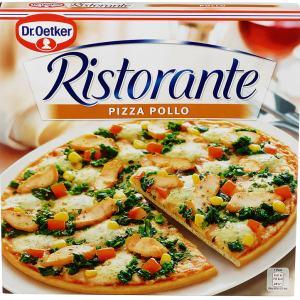 PIZZA RISTORANTE POLLO 355G DR.OETKER