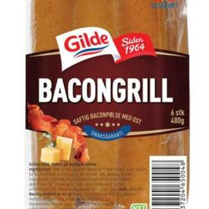 BACONGRILL M/OST 480G GILDE