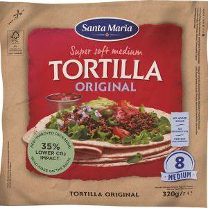 TORTILLA ORIGINAL MEDIUM 8STK ST.MARIA