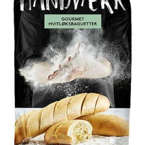 HVITLØKSBAGUETTE GOURMET 2STK HATTING