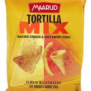 TORTILLA MIX CHEESE&SWEET CHILI 185G MAA