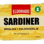 SARDINER BRISLING I OLJE ELDORADO