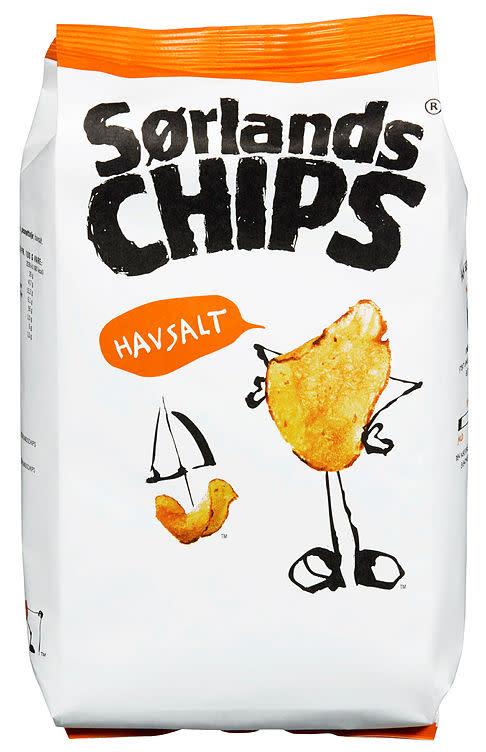 SØRLANDSCHIPS HAVSALT 100G