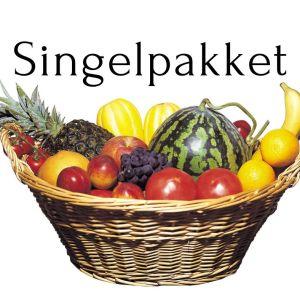 Fruktkurv singelpakket 9kg