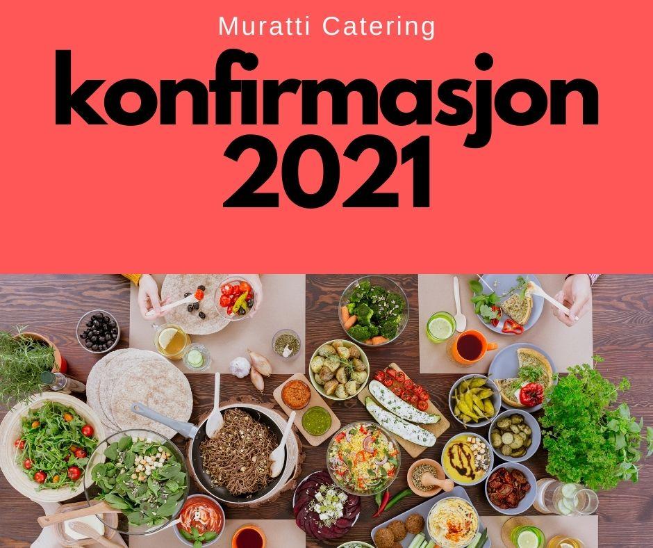 konfirmasjon catering