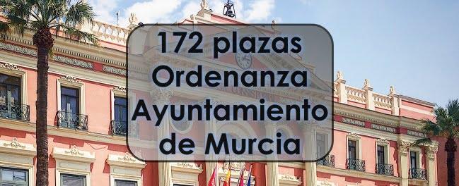 172 plazas de Ordenanza
