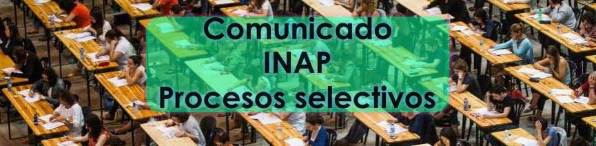 Comunicado INAP