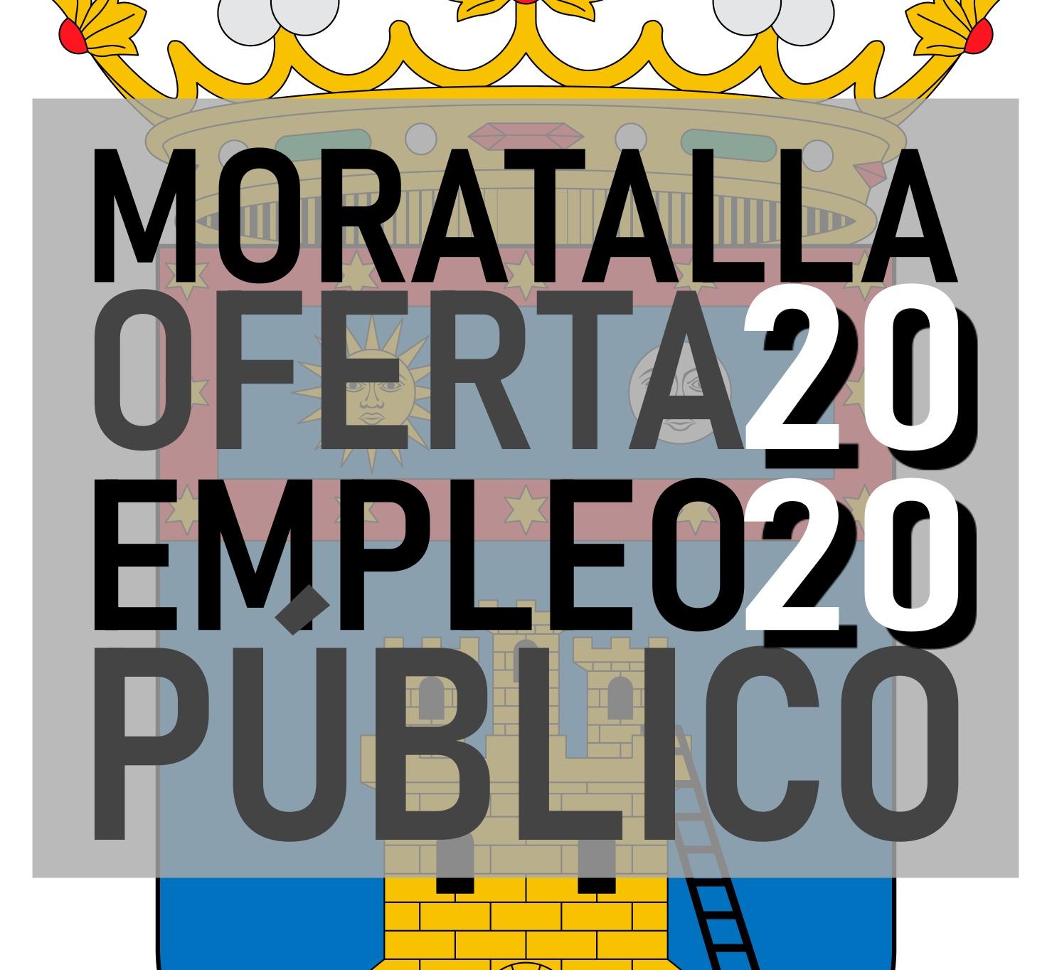 oferta de empleo público 2020 de Moratalla