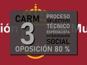 3 plazas Cuerpo de Técnicos Especialistas, opción Educación Intervención Social