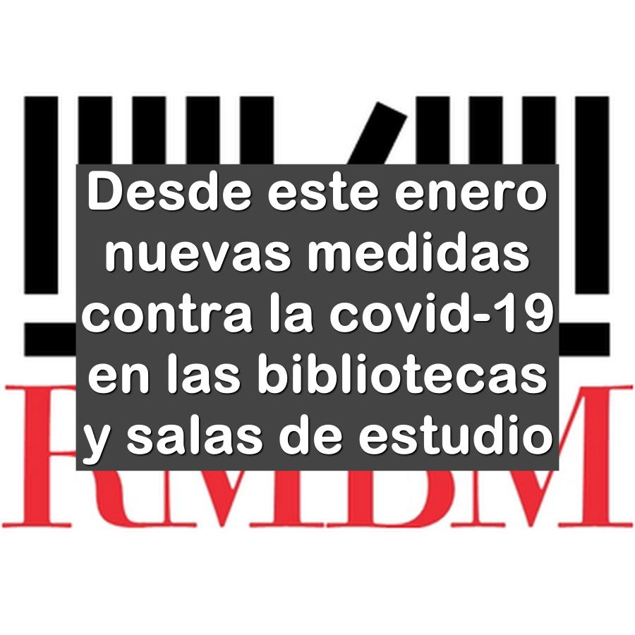 restricciones en bibliotecas y salas de estudio de Murcia
