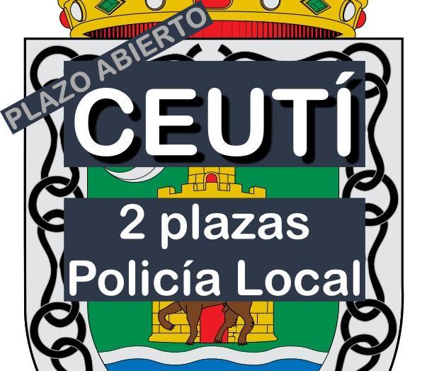 2 plazas Agente de Policía Local en Ceutí