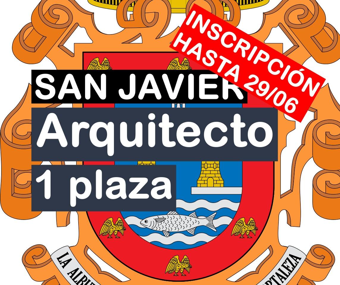 1 plaza de Arquitecto en San Javier