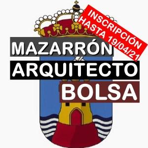 1 Bolsa de empleo de Arquitecto en Mazarrón