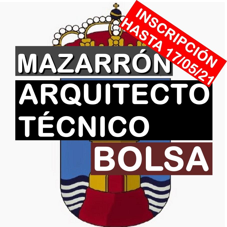 1 Bolsa de Arquitecto Técnico en Mazarrón