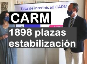 La CARM oferta 1898 plazas