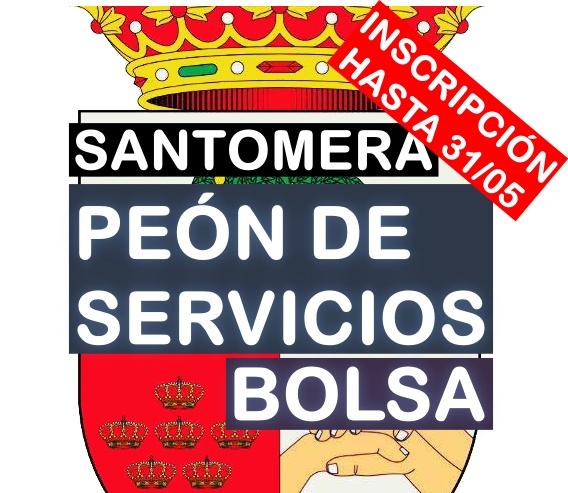 Bolsa de peón de servicios en Santomera