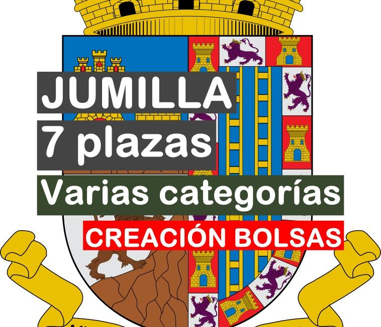 7 plazas de funcionarios y laborales en Jumilla