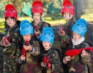 paintball, niños, cumpleaños, colegios, actividades extraescolares