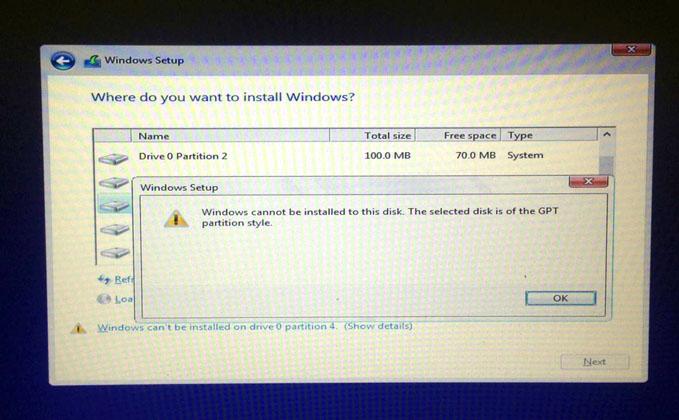 Begini Cara Mengatasi Masalah Windows cannot be installed ...