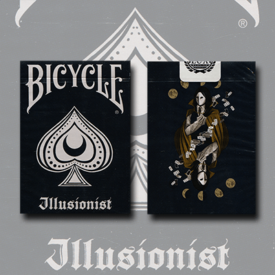 Bicycle Illusionist Deck Limited Edition Dark By LUX