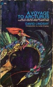 A Voyage to Arcturus, Ballantine Books, cover by Bob Pepper