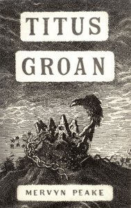 Peake's own dustjacket design for Titus Groan