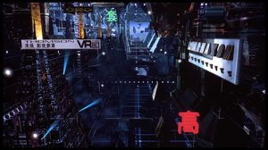 Cyberspace, from 1995's Johnny Mnemonic
