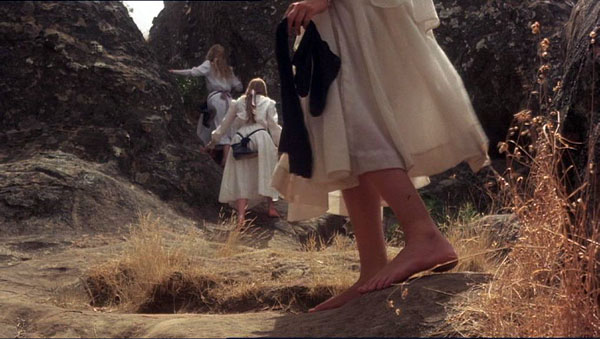 Picnic At Hanging Rock... Without their shoes