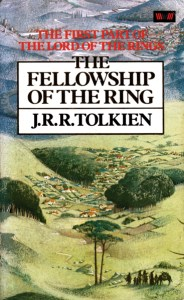 The Fellowship of the Ring, cover by Pauline Baynes
