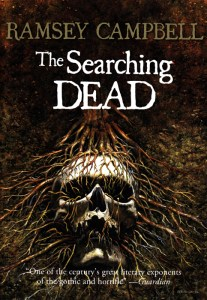 cover to The Searching Dead, art by Les Edwards