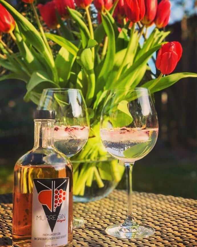 Murre Gin Wingrut - Premium Dry Gin aus dem Weinfass