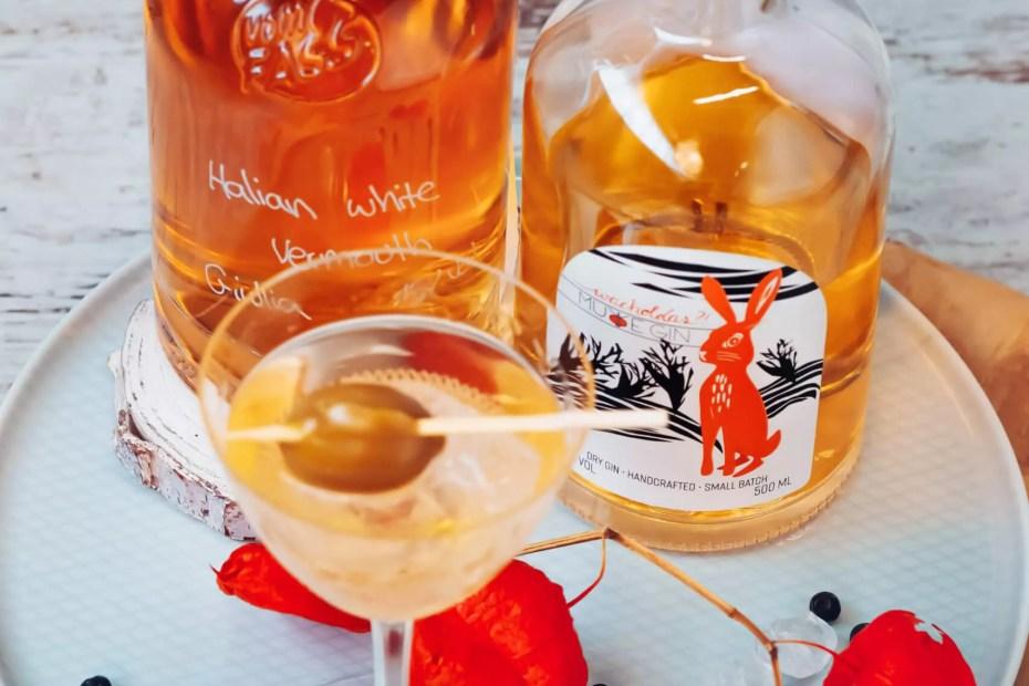Gin Martini mit Murre Gin!