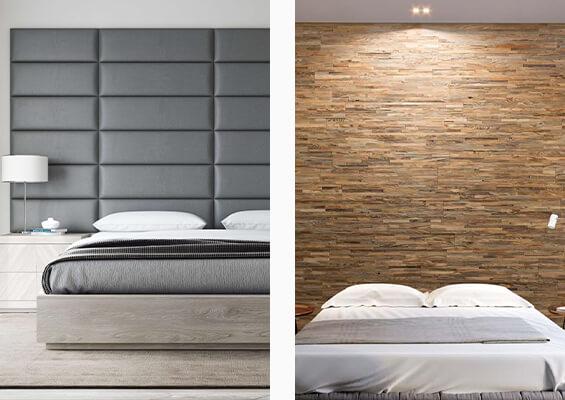 Idees Deco Fabriquer Une Tete De Lit Originale Diy Murs 3d