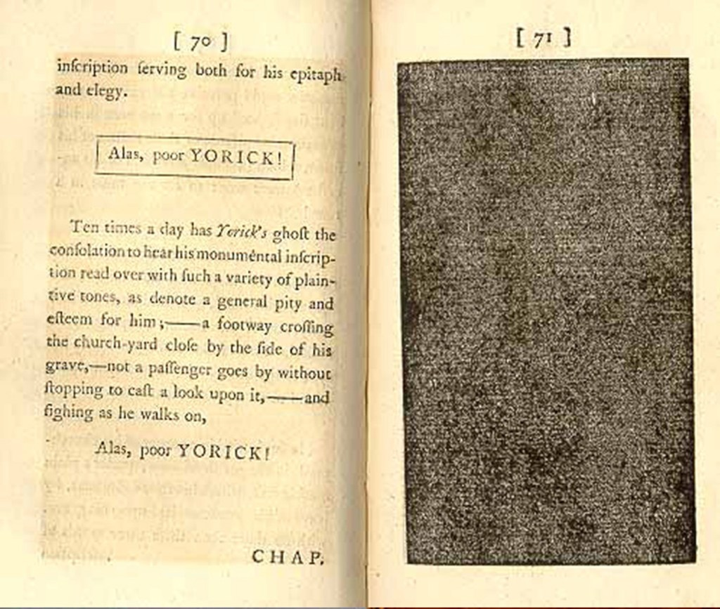 Laurence Sterne. The Life and Opinions of Tristram Shandy,