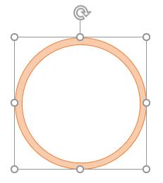 内側の円でくり抜かれた.これは集合の差にあたる