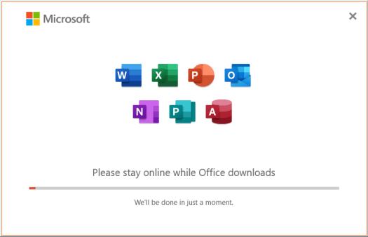 言語アクセサリパックのインストール画面