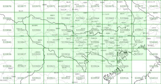 最初「都道府県または地図上で選択」し次に「地図上で選択」