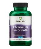 SWANSON Chromium Picolinate 200mcg 200 kaps.