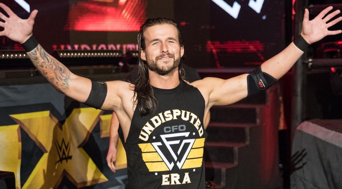 7 Ways NXT Star Adam Cole Trains for Success in the Ring | Muscle & Fitness