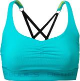 Better Bodies Women's Athlete Short Top - Aqua Medium