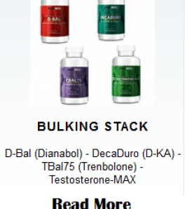 muscle bulking stack