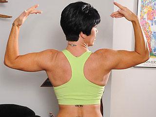 Muscular Pornstar MILF Shay Fox Cam