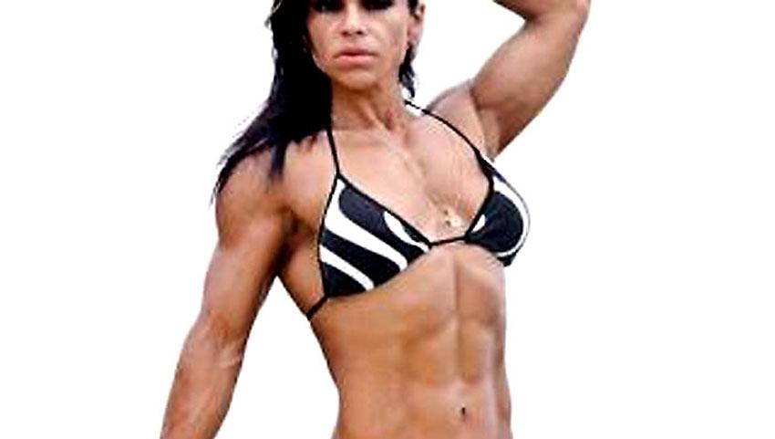 buff muscle cougar ironlady