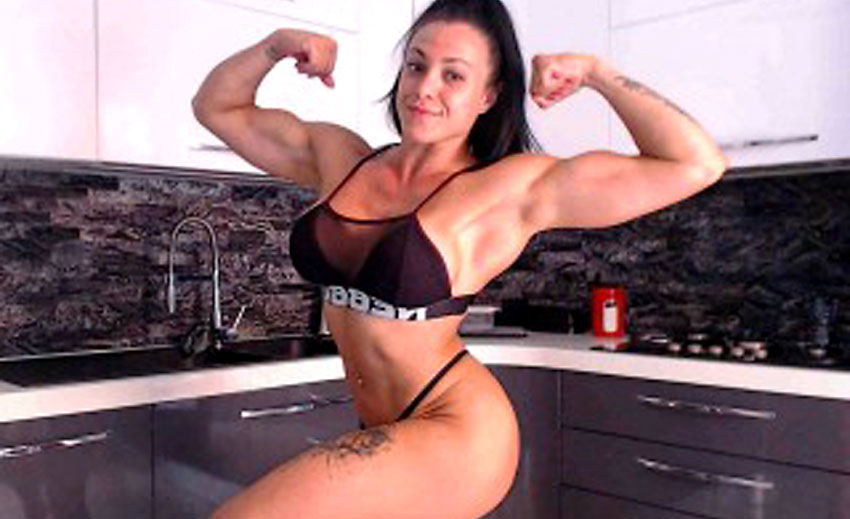 sexy muscle mistress strong_brunette