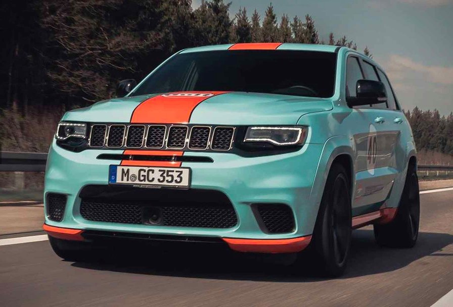 Jeep Grand Cherokee Trackhawk Gets 890 Hp From Geiger Cars